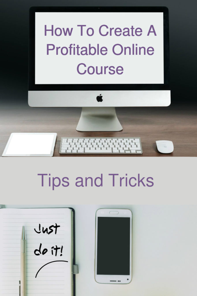 create a profitable course online