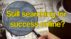 Searching for the key to making money online
