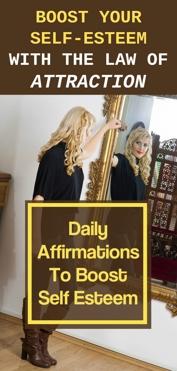 boost self esteem with affirmations