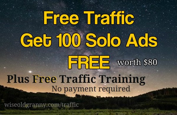 free traffic and training on how to make money online