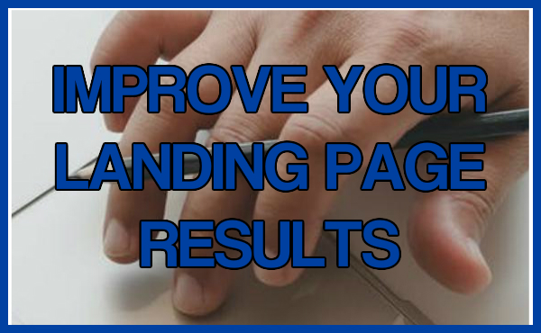 Improve landing page results