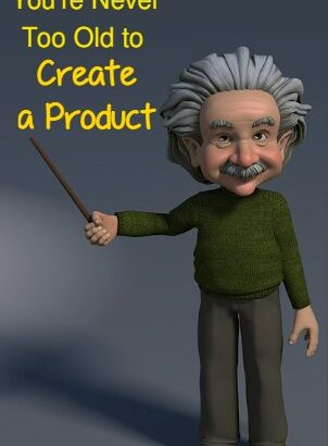 Senior showing how to create a product as a Senior